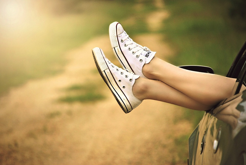 nogi na lato
