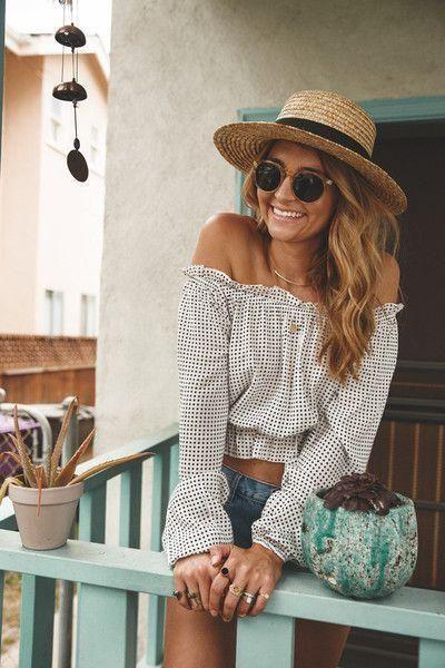 slomkowy kapelusz